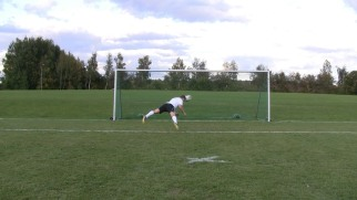 The Diving Header