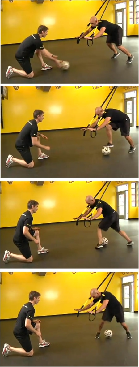 TRX Footwork Drills