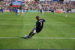 Soccer Rules – The Goal Kick